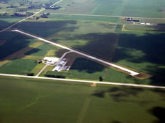Aerial photo of KAXA (Algona Municipal Airport)