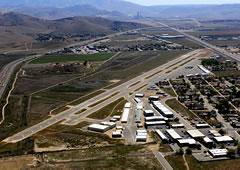 Aerial photo of KTSP (Tehachapi Municipal Airport)