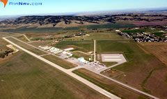 Aerial photo of KSPF (Black Hills Airport-Clyde Ice Field)
