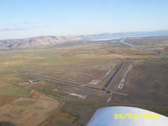 Aerial photo of 1U7 (Bear Lake County Airport)
