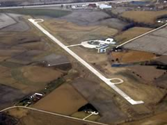 Aerial photo of KDNS (Denison Municipal Airport)