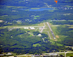 Aerial photo of KUCP (New Castle Municipal Airport)