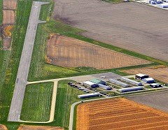 Aerial photo of 1H8 (Casey Municipal Airport)