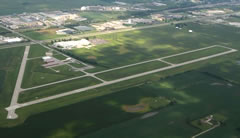 Aerial photo of KFKR (Frankfort Municipal Airport)
