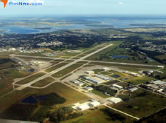 Aerial photo of KISM (Kissimmee Gateway Airport)