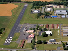 Aerial photo of KEZF (Shannon Airport)
