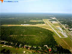 Aerial photo of 54J (DeFuniak Springs Airport)