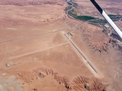 Aerial photo of KHVE (Hanksville Airport)