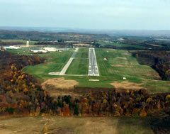 Aerial photo of KDUJ (Dubois Regional Airport)