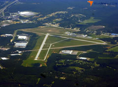 Aerial photo of KAIK (Aiken Municipal Airport)