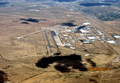 Aerial photo of KIGM (Kingman Airport)