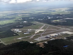 Aerial photo of KTIX (Space Coast Regional Airport)