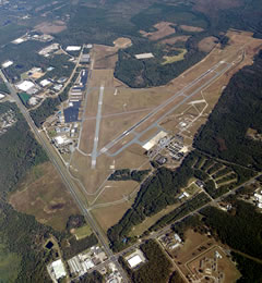 Aerial photo of KGNV (Gainesville Regional Airport)