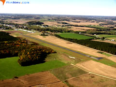 Aerial photo of 3T3 (Boyceville Municipal Airport)