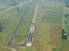 Aerial photo of KSYI (Bomar Field-Shelbyville Municipal Airport)