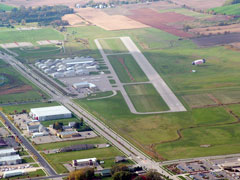 Aerial photo of C29 (Middleton Municipal Airport - Morey Field)