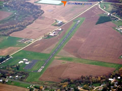 Aerial photo of 93C (Richland Airport)