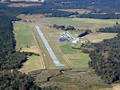 Aerial photo of KACZ (Henderson Field Airport)