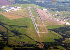 Aerial photo of KCNW (TSTC Waco Airport)