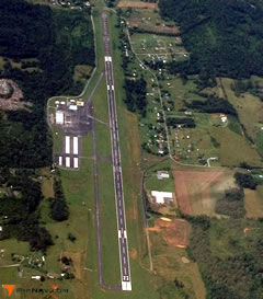 Aerial photo of KGCY (Greeneville-Greene County Municipal Airport)