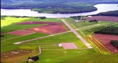 Aerial photo of KRCX (Rusk County Airport)