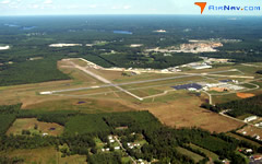 Aerial photo of KPTB (Dinwiddie County Airport)