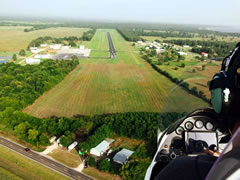 Aerial photo of 00R (Livingston Municipal Airport)