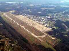 Aerial photo of KLRF (Little Rock Air Force Base)