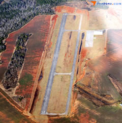 Aerial photo of 41A (Reeves Airport)