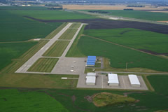 Aerial photo of KJKJ (Moorhead Municipal Airport)