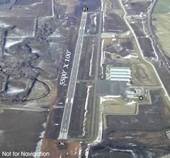 Aerial photo of KGPH (Midwest National Air Center Airport)