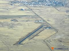 Aerial photo of KJDN (Jordan Airport)