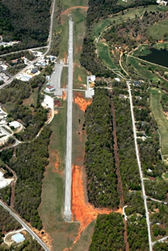 Aerial photo of 6M2 (Horseshoe Bend Airport)