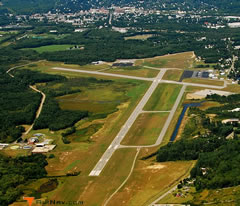 Aerial photo of KEEN (Dillant-Hopkins Airport)