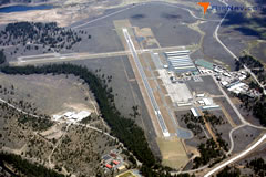 Aerial photo of KTRK (Truckee-Tahoe Airport)
