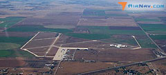 Aerial photo of KDHT (Dalhart Municipal Airport)