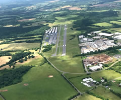 Aerial photo of KCJR (Culpeper Regional Airport)