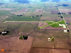 Aerial photo of KSLB (Storm Lake Municipal Airport)