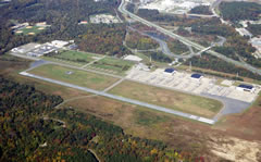 Aerial photo of KFME (Tipton Airport)