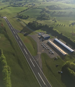 Aerial photo of KMNV (Monroe County Airport)