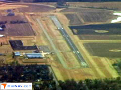 Aerial photo of KMHL (Marshall Memorial Municipal Airport)