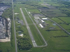 Aerial photo of 7G0 (Ledgedale Airpark)