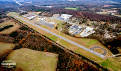 Aerial photo of 4A6 (Scottsboro Municipal Airport-Word Field)