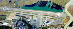 Aerial photo of PAJN (Juneau International Airport)