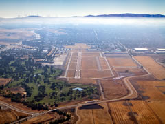 Aerial photo of KLVK (Livermore Municipal Airport)