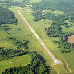 Aerial photo of M22 (Bill Pugh Field Airport)
