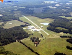 Aerial photo of 2A5 (Causey Airport)