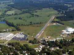 Aerial photo of H17 (Buffalo Municipal Airport)