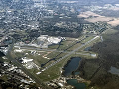 Aerial photo of KLFT (Lafayette Regional Airport/Paul Fournet Field)