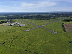Aerial photo of KASX (John F Kennedy Memorial Airport)